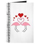Flamingo Hearts Journal