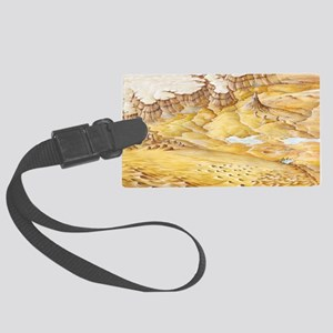 Desert features - Large Luggage Tag