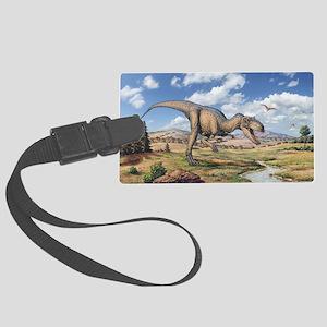 Allosaurus - Large Luggage Tag