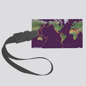 Earth's volcanoes and earthquakes - Large Luggage