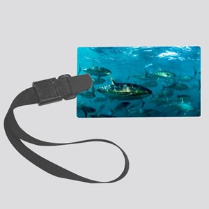 Yellowfin tuna - Large Luggage Tag
