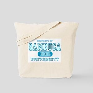 Sambuca University Alcohol Tote Bag