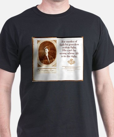 For Modes of Faith- Alexander Pope T-Shirt