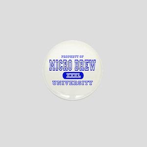 Microbrew University Beer Mini Button