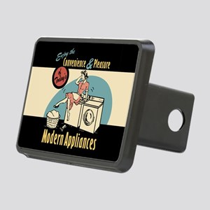Retro Modern Appliances Rectangular Hitch Cover