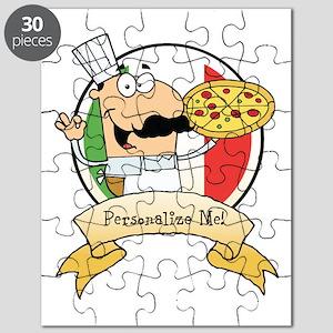 Italian Pizza Chef Puzzle