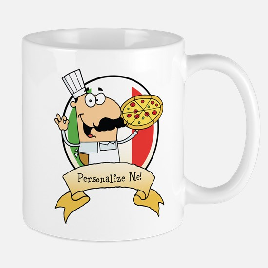 Italian Pizza Chef Mug