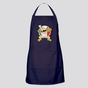 Italian Pizza Chef Apron (dark)