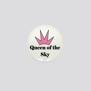 Queen of the Sky (pink)Mini Button