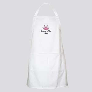 Queen of the Sky (pink) BBQ Apron