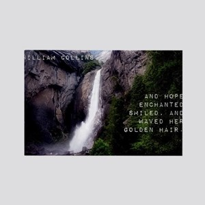 And Hope Enchanted - William Collins Magnets