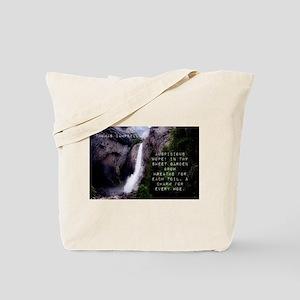 Auspicious Hope - Thomas Campbell Tote Bag