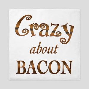 Crazy About Bacon Queen Duvet