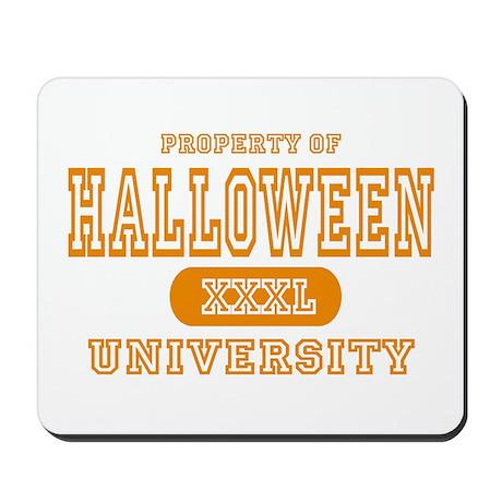 Halloween University Mousepad