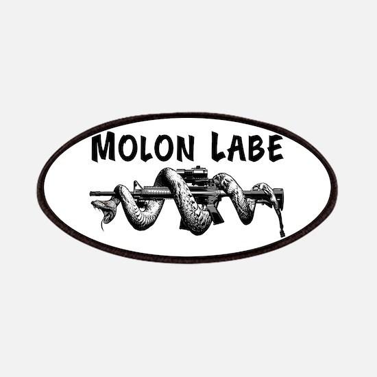 Molon Labe AR15 Patches