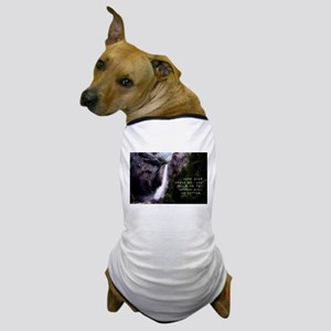 Hope Ever Urges On - Tibullus Dog T-Shirt