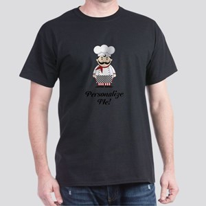 Personalized French Chef Dark T-Shirt