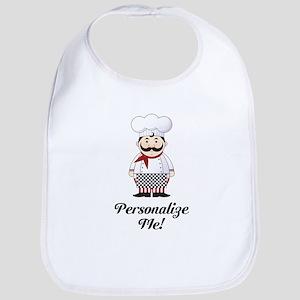 Personalized French Chef Bib