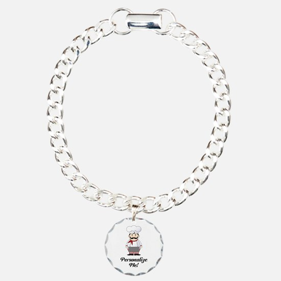 Personalized French Chef Bracelet