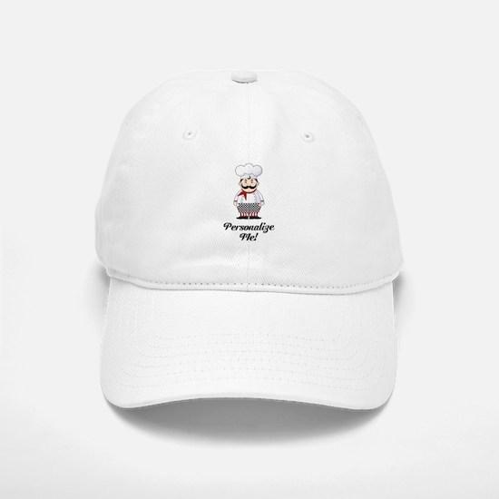 Personalized French Chef Baseball Baseball Cap