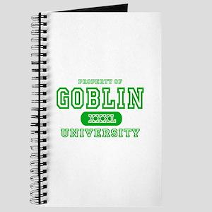 Wicked Witch University Halloween Journal