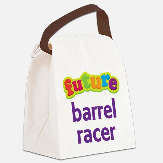 Future Barrel Racer Canvas Lunch Bag