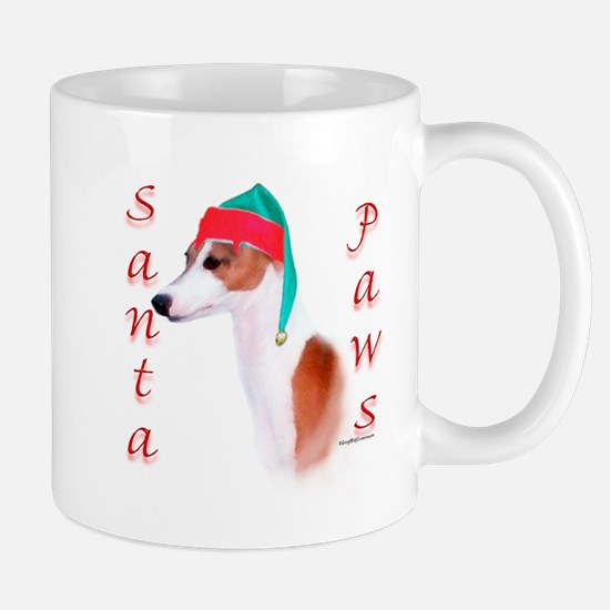 Santa Paws Italian Greyhound Mug
