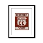 Oro Grande Route 66 Framed Panel Print