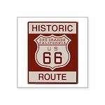 Oro Grande Route 66 Square Sticker 3