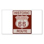Oro Grande Route 66 Sticker (Rectangle 10 pk)