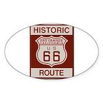 Oro Grande Route 66 Sticker (Oval 50 pk)