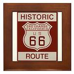 Oro Grande Route 66 Framed Tile