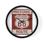 Oro Grande Route 66 Wall Clock
