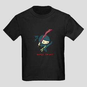 Bacon Ninjas Kids Dark T-Shirt