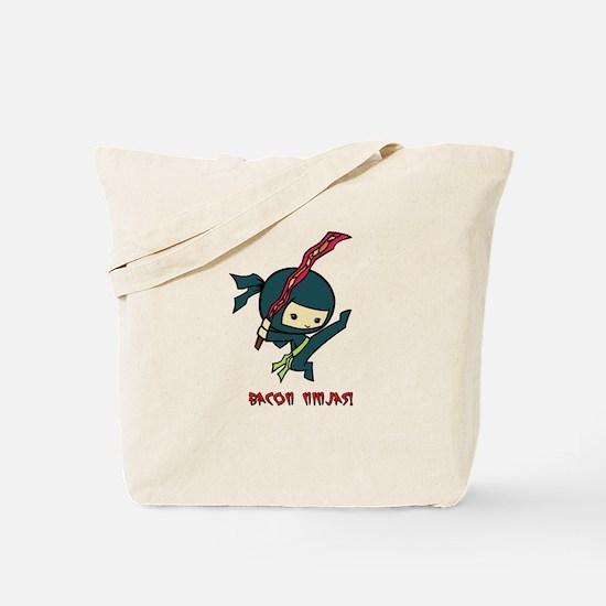 Bacon Ninjas Tote Bag