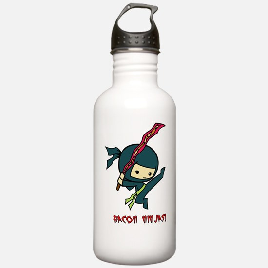 Bacon Ninjas Water Bottle