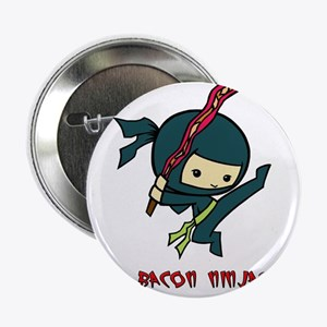 "Bacon Ninjas 2.25"" Button"