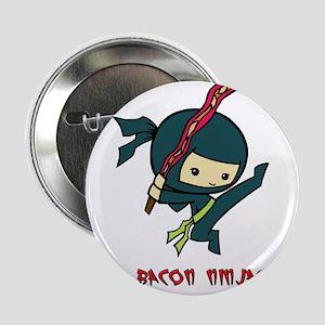 """Bacon Ninjas 2.25"""" Button"""