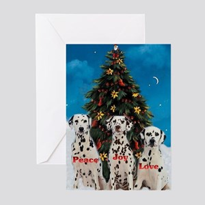 Dalmatian Christmas Greeting Cards (Pk of 20)