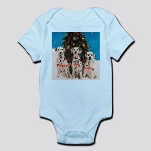 Dalmatian Christmas Infant Bodysuit