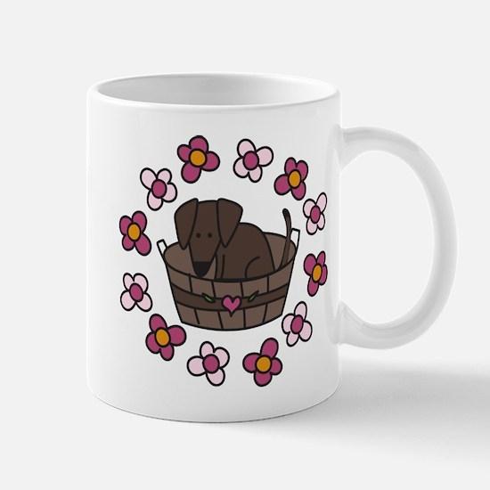 Dog Basket Mug