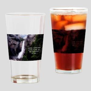 Hope Springs Exulting - Robert Burns Drinking Glas