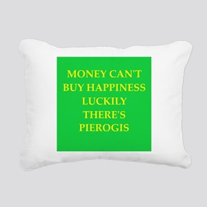 pierogi Rectangular Canvas Pillow