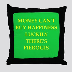 pierogi Throw Pillow