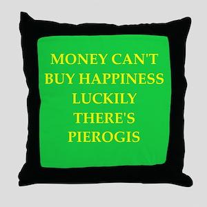 pierogi Throw Pillow