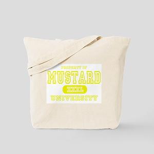Mustard University Yellow Tote Bag