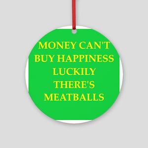 meatballs Ornament (Round)