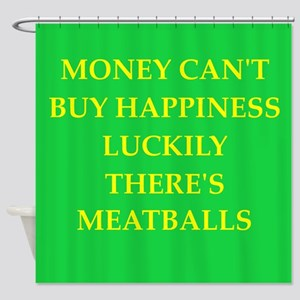 meatballs Shower Curtain