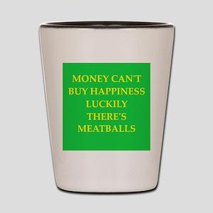 meatballs Shot Glass