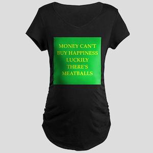 meatballs Maternity Dark T-Shirt